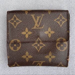 Authentic Louis Vuitton Elise Monogram Wallet